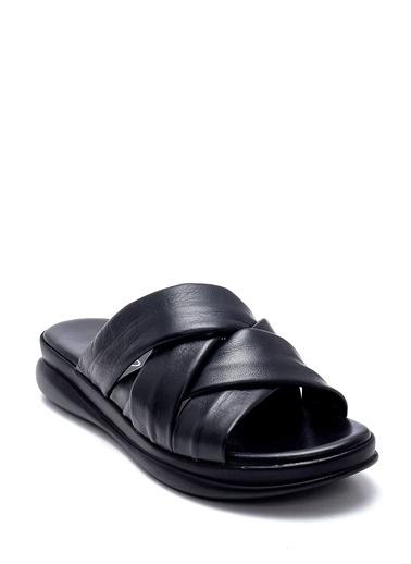 Derimod Kadın Terlik (28076) Casual Siyah
